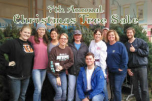 7th Annual Christmas Tree Sale