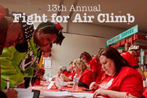 13th Annual Fight for Air Climb