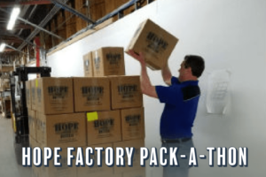 Hope Factory Pack-A-Thon