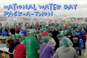 National Water Day Pack-A-Thon