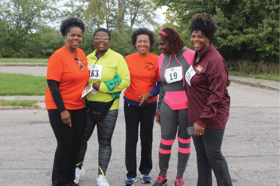 African-American Wellness Walk Cincinnati