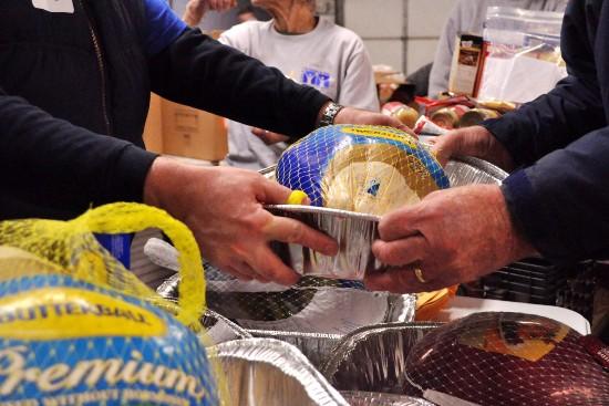 Christmas Food Distribution - St. Vincent de Paul